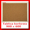 Tablica korkowa 900 x 600