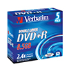 Dysk DVD+R Jewel Case Double Layer 8,5GB (5)43541